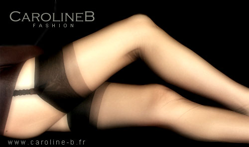 Caroline 10 nylon stockings by Caroline B